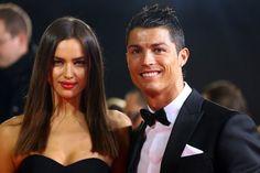 Irina Shayk and Cristiano Ronaldo at the FIFA Ballon d'Or Gala 2012 in Zurich - My Face Hunter