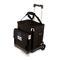 Picnic Time® NFL® Indianapolis Colts Cellar with Trolley Digital Print Insulated Tote/Cooler at www.herbergers.com