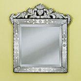 """Wayfair -Agata Venetian Wall Mirror 28""""H x 25""""W"""