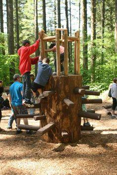 aire de jeux DIY pour enfant