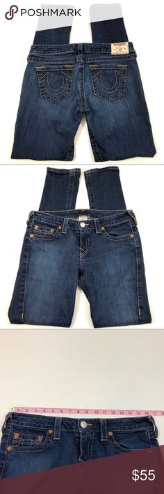 "True Religion Stella Torque Skinny In Body Rinse True Religion Stella Torque Skinny Jeans In Body Rinse Plus Size 32"" Inseam 33.5"" (hemmed) Rise 7.5"" Additional measurements in photos. True Religion Jeans Skinny"