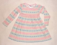 Gymboree Snow Princess Snowflake pink and blue dress size 5 #Gymboree #Everyday