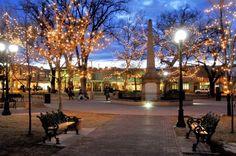 Christmas in Santa Fe Plaza