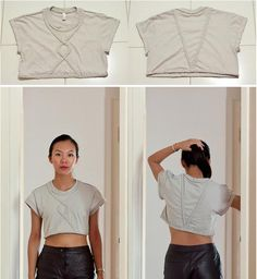 The Braided Crop Top // 19 '90s-Inspired DIYs