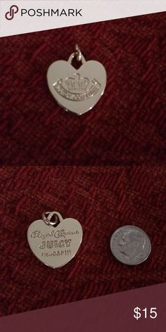 "💗 Juicy Couture Heart Valentine's Day BFF Charms! Collectible! Very pretty & shiny gold (plated) Juicy Couture Heart Charm for bracelet, necklace, purse, wallet, backpack, etc. One side says, ""Juicy Couture,"" and the other side says, ""Royal Couture Juicy"" and ""From G & P lll."" Buy one for yourself and your BFF - plus save 💰if you bundle! A perfect Valentine's Day/other gift! Thank you for visiting & shopping here! I 💖 my Posher Pals! Juicy Couture Accessories"