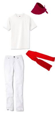 Spanish attire -- running of the bulls! Spanish Mothers Day, Italy Summer, Summer 2015, Running Of The Bulls, Spanish Culture, Spain And Portugal, Street Style, Casual, How To Wear