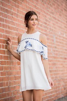 Our Favorite Ways to Wear Embroidery: Roses & Ruffles