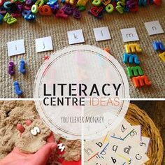 More literacy centre ideas for your classroom! Perfect literacy-based learning for 4-7yr olds. For related pins and resources follow https://www.pinterest.com/angelajuvic/kindergarten/
