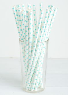 25 Aqua Polka Dot Paper Straws- The perfect touch for girl baby showers bridal showers and pink-themed birthday parties Chevron Paper, Polka Dot Paper, Polka Dots, Baby Boy Shower, Baby Showers, Bridal Showers, Aqua Wedding, Party Wedding, Baby Shower