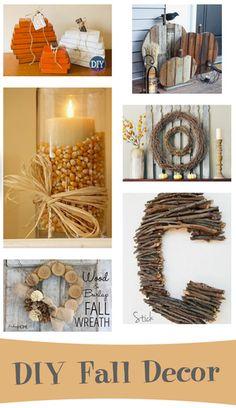 Fabulous Fall DIY Decor!