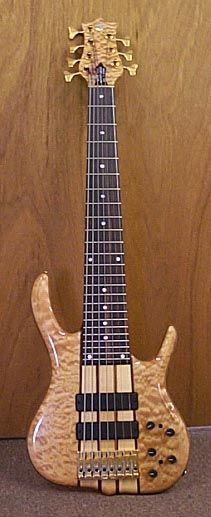 Ken Smith BSR7EG Highly Figured Quilted Maple 7 string