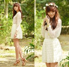 6c91b9fc04 Crown Of Flowers (by Camille Co) http   lookbook.nu