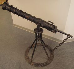 Hand Forged Copy of 15th Century Breech-Loaded Culverin