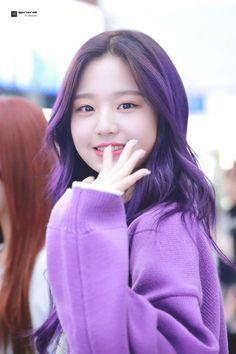 purple purple purple💜 - c Kpop Girl Groups, Kpop Girls, Korean Girl, Asian Girl, Jang Wooyoung, Young The Giant, Shinee, New Dj, Pre Debut