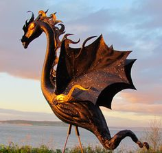 Flamingo Incognito: Colorful Dragons to Decorate Your Lawn