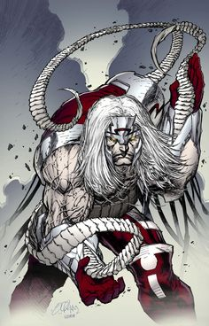 Omega Red by lummage.deviantart.com on @deviantART