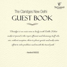 Delightful words from our discerning guests! http://bit.ly/1ItUuuu