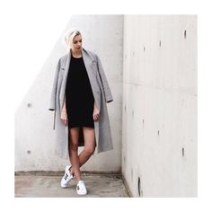 The whole look #outfit #ootd #fashioninspiration #fashion #inspiration #adidas #superstar #cos #coat #Padgram