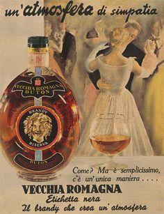 Vecchia Romagna etichetta nera, il brandy che crea un'atmosfera