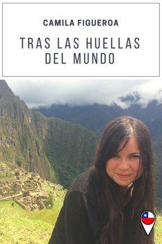 Camila Figueroa The World, Foot Prints, Travel