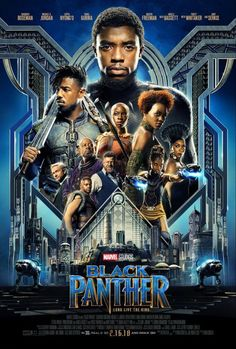 Marvel's latest film, Black Panther, was incredible! I can easily confirm that this new film is in my top 3 Marvel movies of all time. Black Panther delights with a. Black Panther Marvel, Black Panther Movie Poster, Black Panther Character, Black Panther 2018, Black Panthers, Films Marvel, Marvel Cinematic, Marvel Dc, Disney Marvel