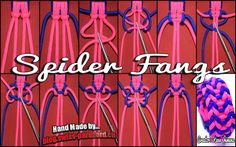 Spider Fangs Tutorial | Swiss Paracord