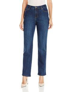 Gloria Vanderbilt Women's Size 6 Amanda Straight Leg Jean, Scottsdale Wash