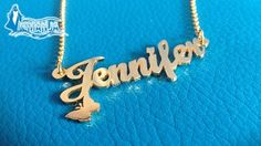 24K Gold or Rhodium Plated Customized Necklace/Bracelet from iemanja (staring from $28 instead of $48)