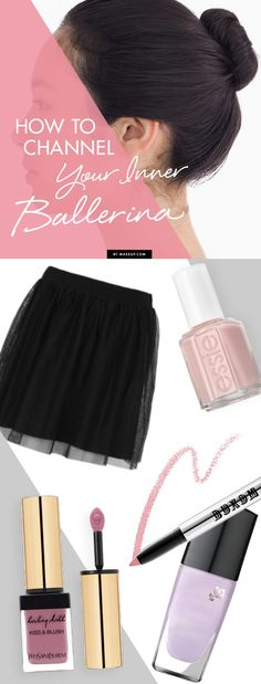 We all have dreams of being a ballerina (even if it's just for Halloween). Here are four ways to channel your inner ballerina with makeup!