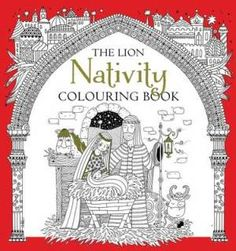 The Lion Nativity Colouring Book | Free Delivery when you spend £10 @ Eden.co.uk