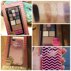 POP-OUT MAKEUP PALETTE & IPHONE CASE. Too faced Limited-Edition Jingle All the Way Makeup Palette & iPhone 5 Case. Too Faced Accessories Phone Cases