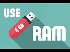 how to USE pendrive as ram  .....INCREASE PC PERFORMANCE