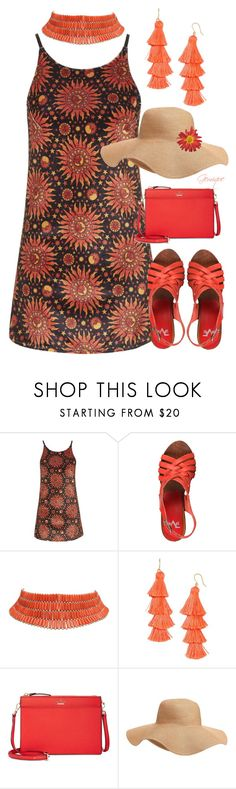 """The Sun Rises"" by gemique ❤ liked on Polyvore featuring Motel, BaubleBar, Kate Spade and Old Navy"