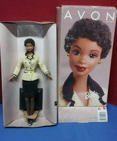 Avon Representative African American Barbie Doll (Special Edition NEW OLD STOCK #Mattel #Dolls