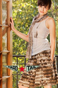 HARDTAIL FOREVER!  Great yoga wear made in the USA!