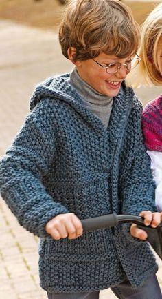 Images result for tejidos a palillos Knitting Patterns Boys, Kids Patterns, Knitting For Kids, Baby Knitting Patterns, Crochet For Kids, Diy Crafts Knitting, Crochet Vest Pattern, Popular Crochet, Quick Knits