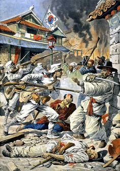Japan Occupies Korea Following The Russo-Japanese War, unrest in Korea