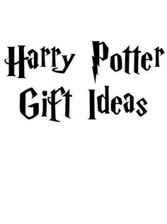 The best Harry Potter gift ideas around...a page full of them, LOL. If you're looking for a special present for a Harry Potter fan, you will enjoy this page. #harrypotter