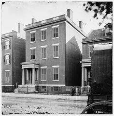 Residence of General Robert E. Lee (707 East Franklin Street) - Richmond, VA, 1865