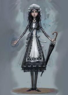 Alice: Madness Returns  Alice London Concept