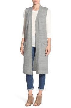 Free shipping and returns on Echo Knit Long Vest at Nordstrom.com. Knit with a slightly fluffy boulcé texture, this longline vest offers cozy warmth when layered atop your favorite fall looks.