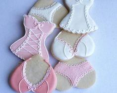 Bridal Shower Cookies Engagement cookies / 1 dozen by Scookies