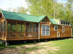 park model homes | The Riverview Cabin Park Model