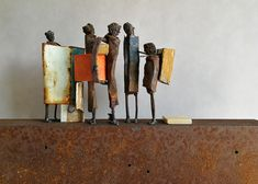 Sculpture artist s gallery by JPJ Buy sculptures art from online gallery Metal Sculpture Artists, Art Sculpture, Metal Sculptures, Art Internet, Kunst Online, Junk Art, Buy Art Online, Artist Gallery, Art Background