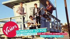The Vamps - Somebody To You Feat. Demi Lovato (Official Audio) ♡