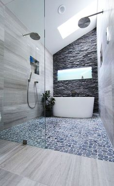 Tiny house bathroom - Looking for small bathroom ideas? Take a look at our pick of the best small bathroom design ideas to inspire you before you start redecorating. Bathroom Renos, Grey Bathrooms, Beautiful Bathrooms, Bathroom Interior, Master Bathroom, Bathroom Ideas, Wet Room Bathroom, Bathroom Designs, Bathroom Remodeling