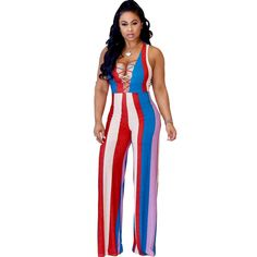 f3ca2f00ce off shoulder striped sexy Long jumpsuit. Long JumpsuitsJumpsuits For  WomenRompers ...