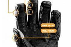 Handschuhe mit Smartphone-Fernbedienung
