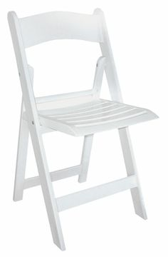Wimbledon by McCourt MFG. Resin Folding Stackable Chairs