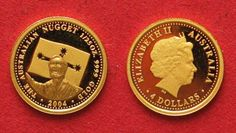 2004 Australien 1/25 oz Gold AUSTRALIA 4 Dollars 2004 AUSTRALIAN NUGGET Proof # 36725 PP